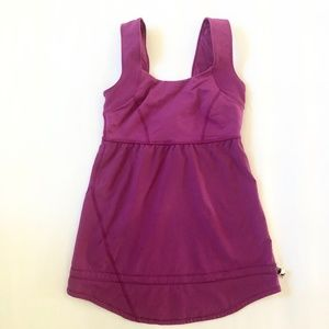 LULULEMON Scoop Neck Tank Top Fuchsia Purple Pink